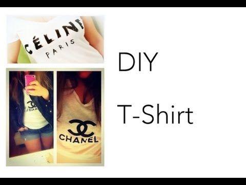 DIY [Céline Paris T-Shirt] - Célfie