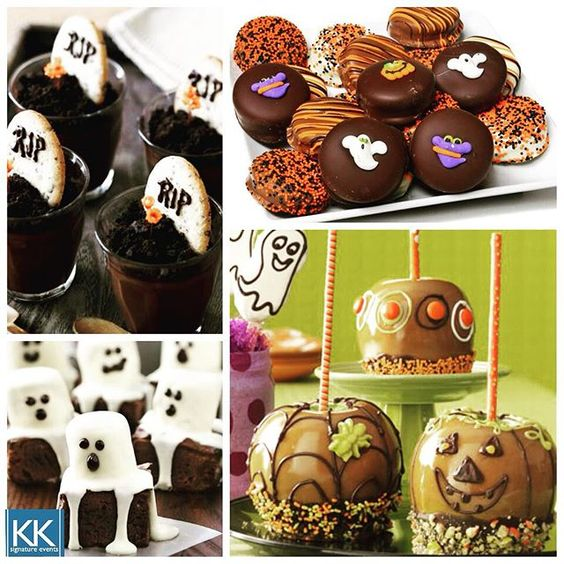 Try these cute, easy Halloween desserts for your perfect Halloween party this year! #halloween #dessert #food #love #partyplanning #signatureeventsnashville