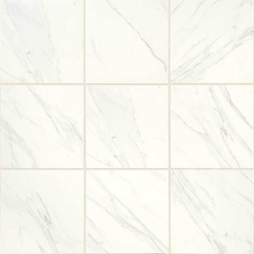 Bathroom Floor Tiles Sealing : Want the look of marble with no sealing and fuss this