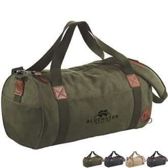 Alternative® Basic Cotton Barrel Duffel | Health Promotions Now