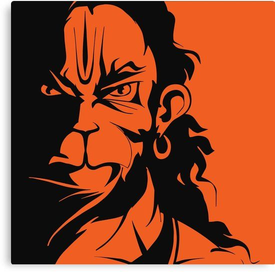 Rudra Hanuman Canvas Print By Locartindia Hanuman Wallpaper Lord Hanuman Wallpapers Hanuman Hd Wallpaper Bajrang dal wallpaper hd download