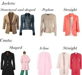 jackets for Rectangle Body Shape