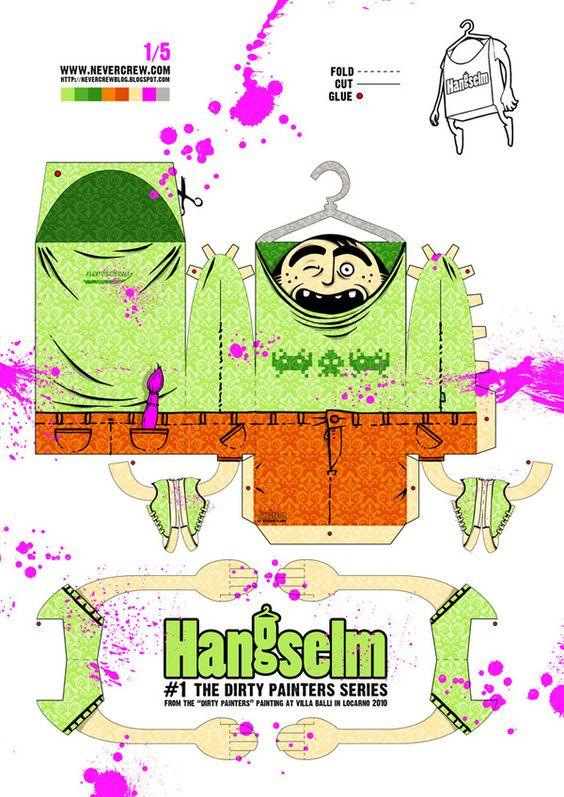 Hangselm by NEVERCREW , via Behance