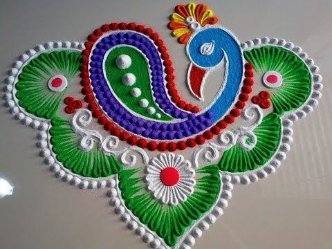 Happy New Year Rangoli Design Gallery 32