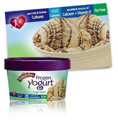 ever!! Turkey Hill Fudge Ripple Frozen Yogurt!!! Better than ice cream ...