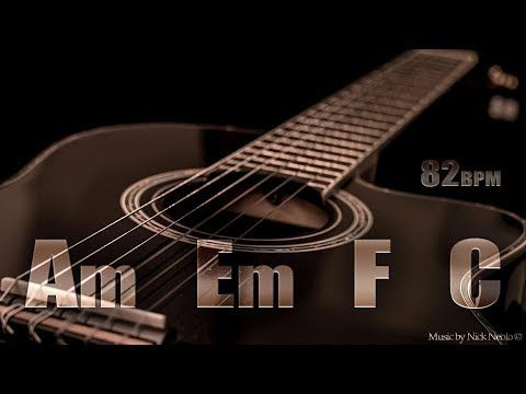 Acoustic Guitar Ballad Backing Track A Minor Youtube Backing Tracks Guitar Guitar Youtube