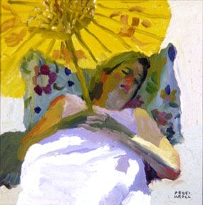 """Peggy Kroll Roberts  ~ """"Nap On The Beach"""""""