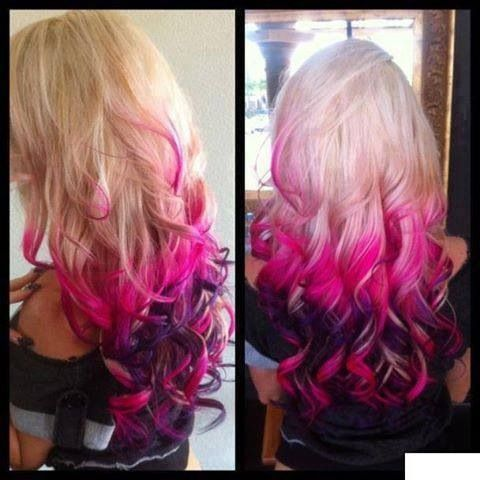 Colorful Hair Dye Simple Easy Hairstyles For Haircolor To Try From 7