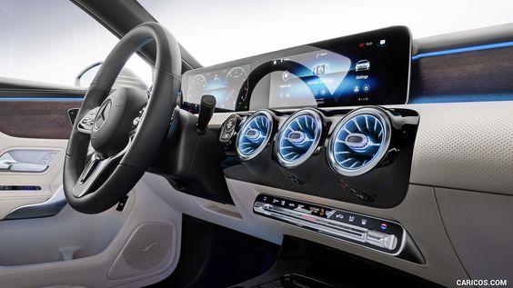 2019 Mercedes Benz A Class Sedan Wallpaper Benz A Class Mercedes A Class Mercedes Benz Interior