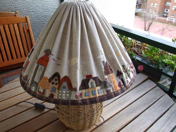 Mi pequeño mundo Patchwork: PANTALLA LAMPARA DE TOSHIKO MATSOU