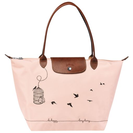 Sac Longchamp Pliage Rose