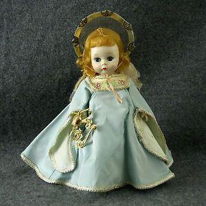 Vintage Madame Alexander Wendy Kins Guardian Angel Doll Harp Triple Part   eBay