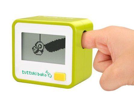 Bandai Tuttuki Bako Virtual Finger Game.