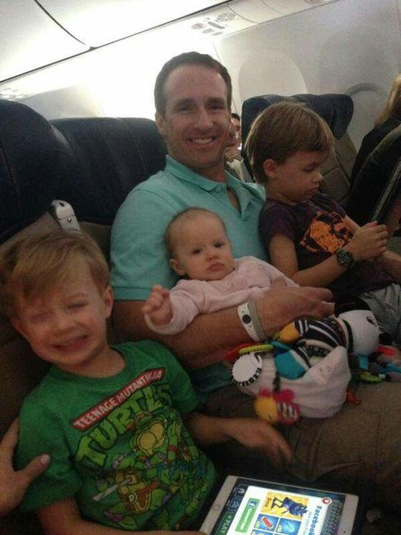 Nike NFL Youth Jerseys - Drew Brees And His Kids Heading To Arizona For The 2015 Pro Bowl ...