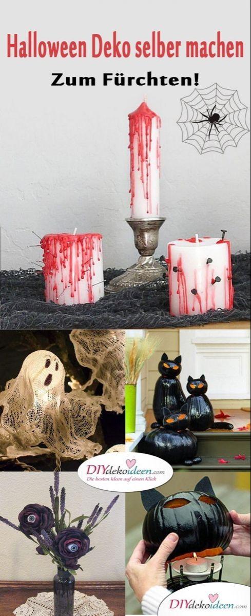 Zum Furchten Schrecklich Gruselige Halloween Deko Selber Machen Halloween Deko Selber Machen Halloween Deko Halloween Deko Basteln