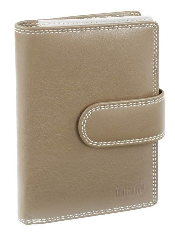 Damenbörse mit Riegel (taupe) - M17704TP