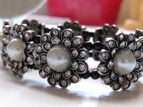 40s inspired statement bracelet
