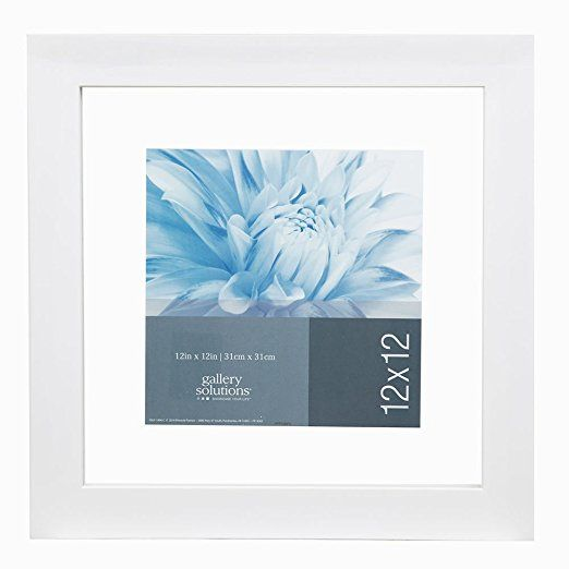 Gallery Solutions 12x12 White Float Frame For Floating Display Of 10x10 Image 14fw1256 Floating Picture Frames White Picture Frames Floating Frame