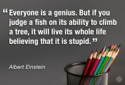 Look for your genius