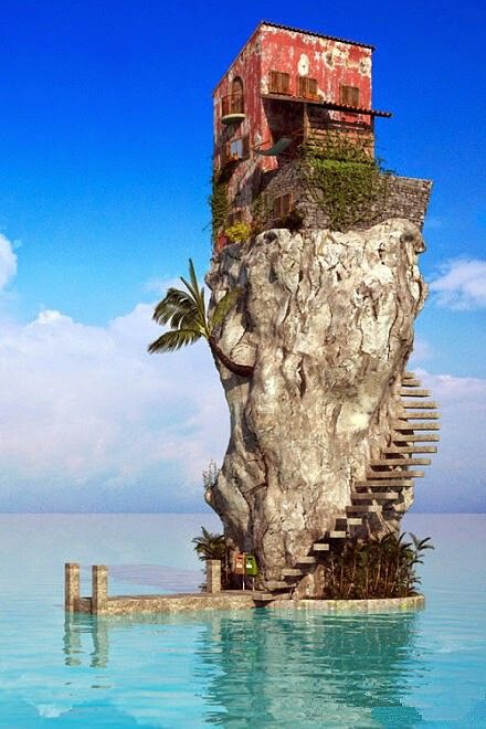 """Crazy homes: BBC Boracay says - Who is crazy? The house or you ... Or crazy enough to love to live here ? """""""