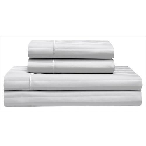 Elite Home Cooling Cotton Satin Stripe Sheet Set In 2020 Cotton