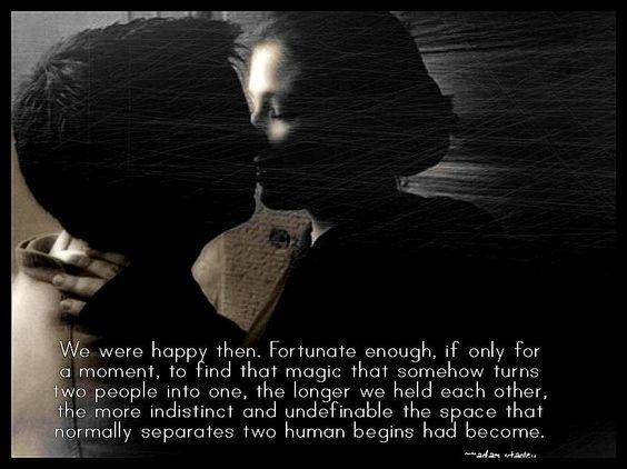we were happy then...