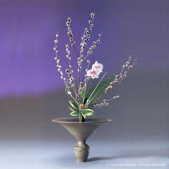 立花(りっか) Rikka styke is ikebana of Ikenobou