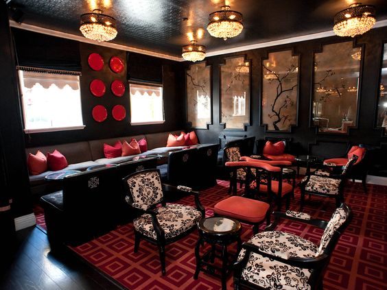 Bar Noir, Maison 140 Beverly Hills : Sexy Hotel Bars for First Dates : TravelChannel.com