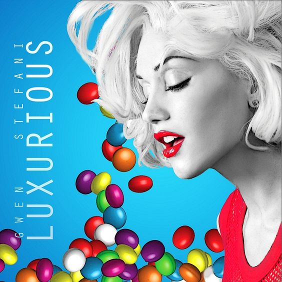 Gwen Stefani – Luxurious (single cover art)