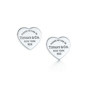 Tiffany & Co. | Item | Return to Tiffany™ Ohrringe mit Mini-Herzmarke, Sterlingsilber. | Deutschland