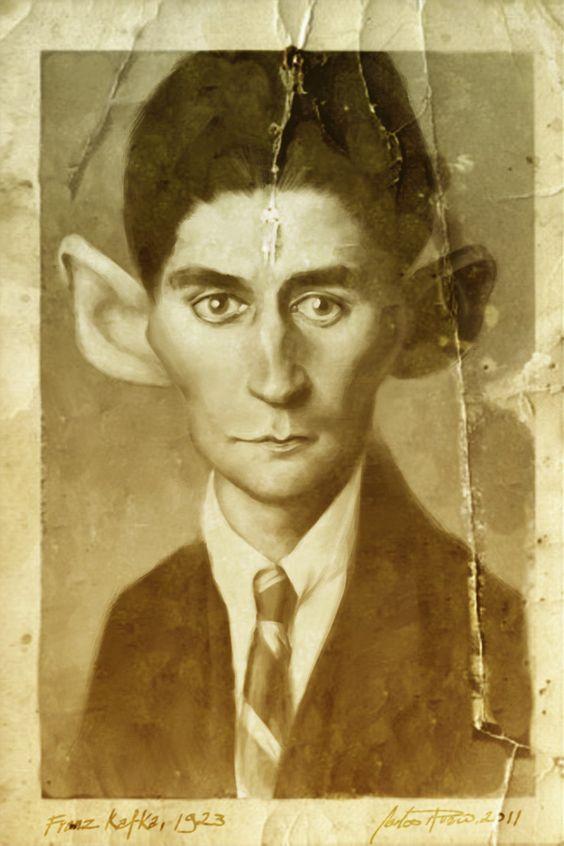 Franz Kafka by CarlosRubio.deviantart.com on @DeviantArt