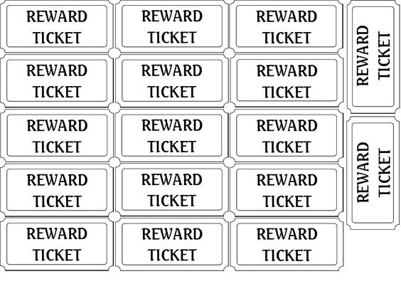 The 25+ Best Printable Tickets Ideas On Pinterest | Ticket Websites, Ticket  Check And Ticket Printing  Printable Tickets Free