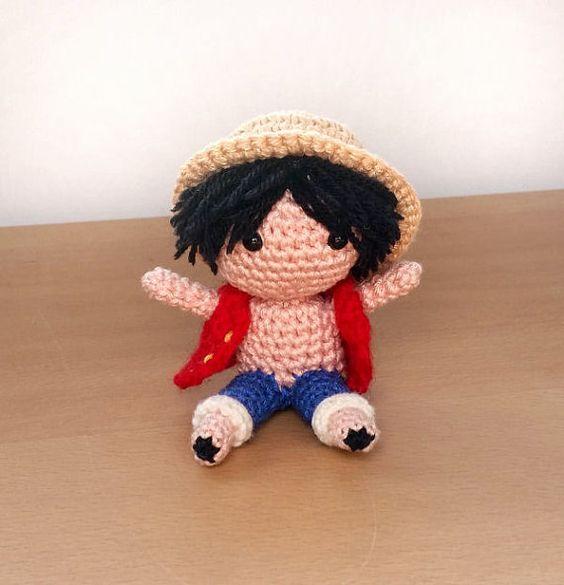 Amigurumi, Crochet and One piece on Pinterest