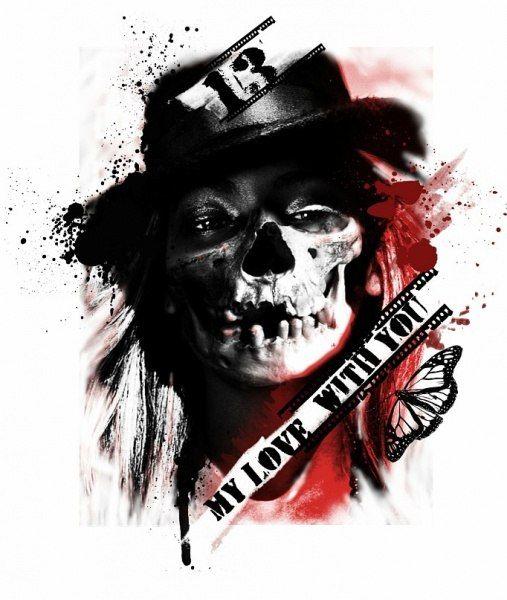 Trash Polka Skull By Mcrdesign On Deviantart: Pinterest €� The World's Catalog Of Ideas