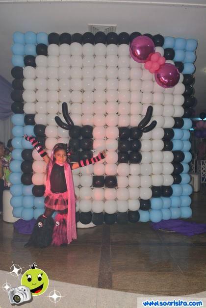 MonsterHigh #Globos #Decoraciones #FiestasInfantiles Balloon Art - imagenes de decoracion con globos