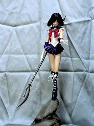 Bishoujo Senshi Sailor Moon - Sailor Saturn - 1/6 - Standing on stone (Output)