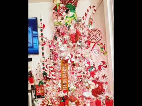 Youtube Christmas Decorations 2020 Christmas decorations 2020 candycane theme🎄   YouTube in 2020