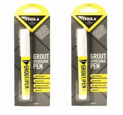 Bought 2x Tile Grout Whitening Pen Refresh Restore White Kitchen Shower Bathroom…