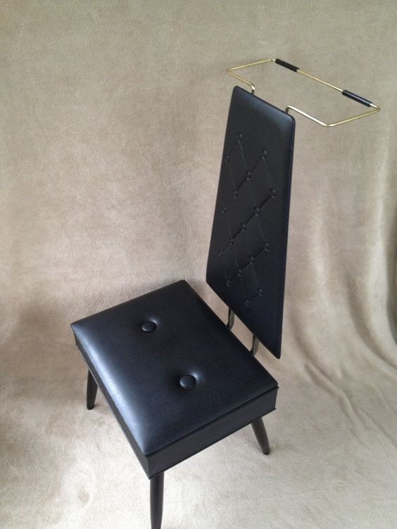 Retro Mens Valet Butler Chair With Storage