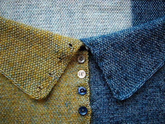Knitting Circle Toronto : Sashiko pattern by the knit cafe toronto two tones
