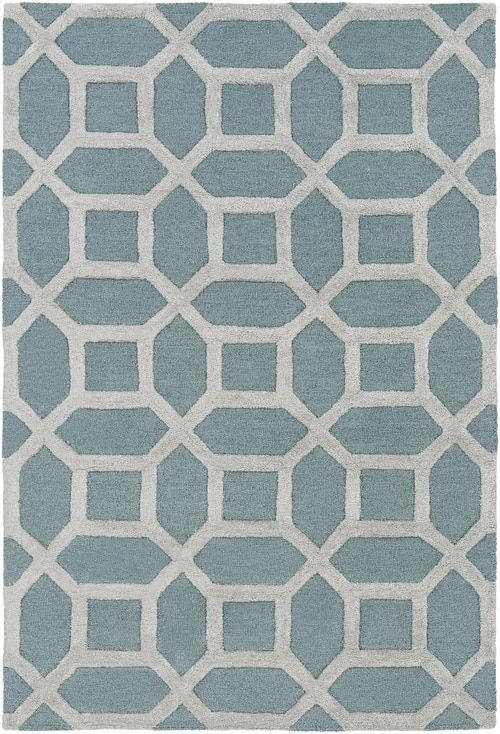A Lattice Pattern In A Teal Color On An Ice Blue Background This Luxury Wool And Viscose Rug Adds Instant Warmth Light Grey Area Rug Clearance Rugs Area Rugs