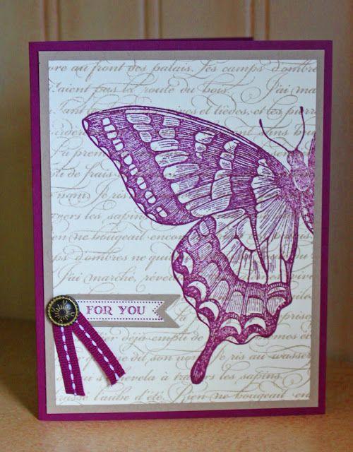 DIY Kinda Girl: Swallowtail Card