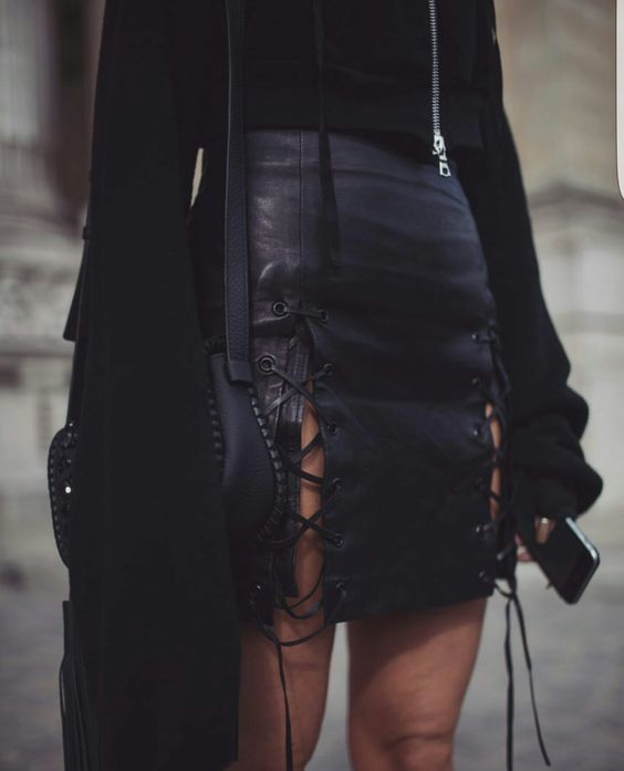 Modest Leather Skirts