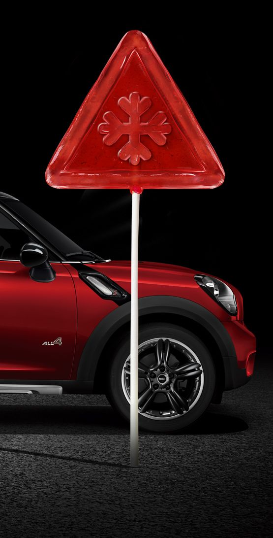 Con MINI, los obstáculos son caramelos. ¿Todavía no lo has probado? Es pura diversión. www.pruebaunmini.com
