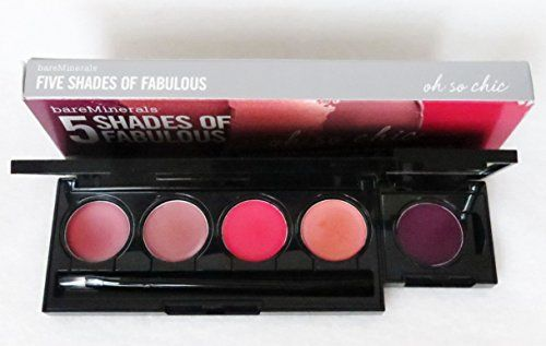 bare Minerals Oh So Chic 5 Shades Of Fabulous Marvelous Moxie Lipstick Palette Plus Lip Brush Bare Escentuals http://www.amazon.com/dp/B00FGAZA9K/ref=cm_sw_r_pi_dp_K0kCwb05T0AP8: