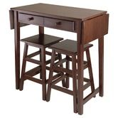 Found it at Wayfair - Mercer Double Drop Leaf Table Set