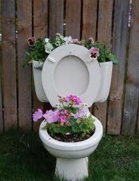 OK, toilet gardens - love them or hate them? (I'm keeping my opinion to myself!) via Garden Gazebo: