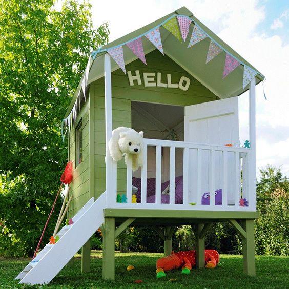 Cabane pour les enfants cabanes enfants id es pinterest for Cabane pour les enfants
