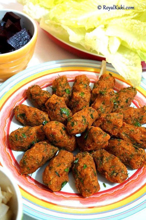 Mercimek Köftesi, Albóndigas de lenteja roja, Turquía