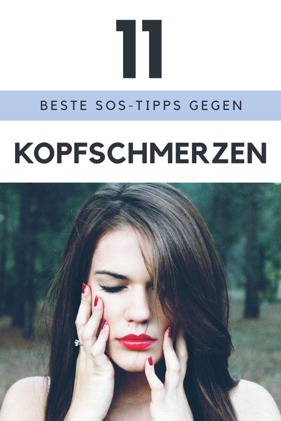 """Die 11 besten SOS-Tipps gegen Kopfschmerzen! Die Arbeit """"stapelt"""" sich, der Chef drängt und dann ziehen auch noch Kopfschmerzen auf? Steuerst du jetzt mit den richtigen Mitteln gegen, kannst du das """"Gewitter"""" im Kopf noch aufhalten. Dafür hier die 11 besten SOS-Tipps. Am besten gleich bei den allerersten Anzeichen für aufziehende Kopfschmerzen mit reichlich Flüssigkeit einnehmen. Ob du zu Kopfschmerztabletten mit dem Wirkstoff Acetylsalicylsäure (ASS) oder Ibuprofen greifst, bleibt dir überlassen."""